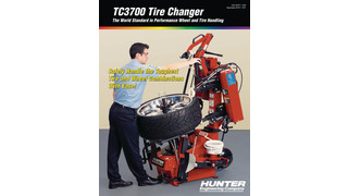 TC3700 Tire Changer brochure