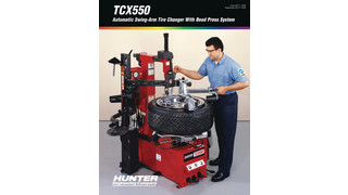 TCX550 Tabletop Automatic Tire Changer brochure