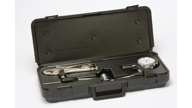 Complete brake measuring tool line
