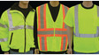 ANSI Class II and ANSI Class III safety vests