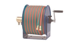 100W Series Compact Hand Crank Welding Hose Reel