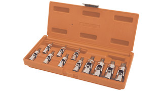 11-piece Universal Tamperproof Star Bit Driver Set'#8212;SMXUT11HB and 11-piece Universal Tamperproof