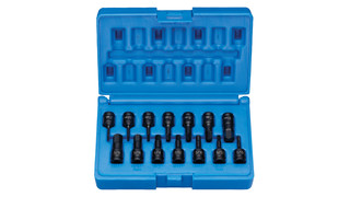 1/4-drive Impact Hex Driver Set No. 9298HC
