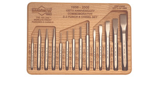 150 Line of punches and chisels