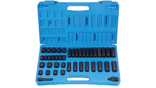 1642RD 3/8-drive, 12-point, 42-piece Master Impact Socket Set
