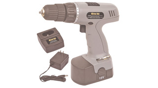 18-Volt Cordless Drill with Keyless Chuck