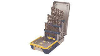 29-Piece Metal Index Drill Bit Set