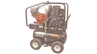 30gal. electric or gasoline two-stage air compressors