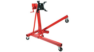 360-degree Rotatable Head, 1,250-pound capacity Engine Stand