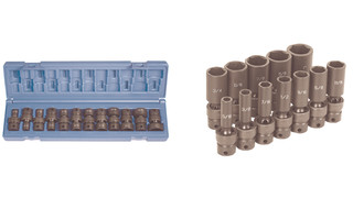 3/8-drive Universal Impact Socket sets
