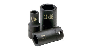 40 Piece 3/8 Drive 6_Point Impact Socket SuperSet, No. 4090