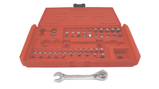 45-piece Stubby Wrench Bit Set