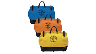 5002 Series multi-pocket canvas tool bags