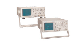 6030C and Dual Trace Analog Scopes