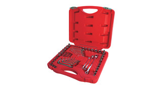 62-Piece Star Socket and Wrench Set