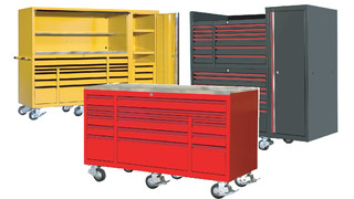 72 3-bank and 55 2-bank toolboxes