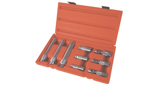 9-piece spark plug socket set