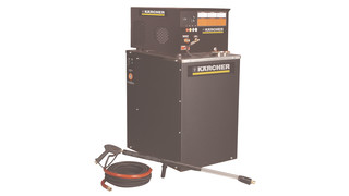 All-electric pressure washers