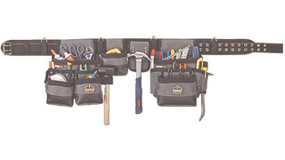 Arsenal Storage Systems leather tool belts and bags