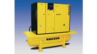 AS-T Series Rotary Screw Compressor-20 and 25 HP models