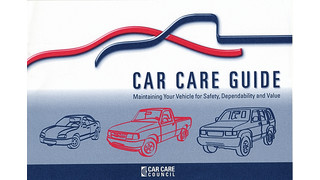 Car Care Guide: Maintaining Your Vehicle for Safety, Dependability and Value