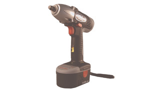 Cordless 14.4-Volt Impact Wrench Kit