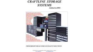 Craftline Storage Systems Drawer Cabinets