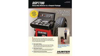 DSP7700 Wheel Balancer Literature