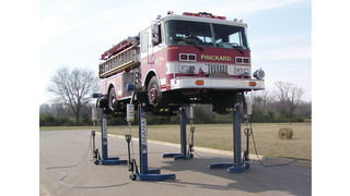 Electrical/Mechanical heavy-duty mobile lifts