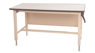 Ergo-Line adjustable height workbenches