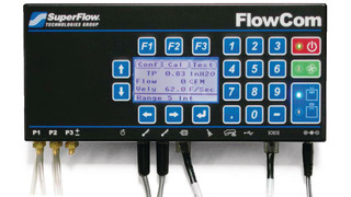 FlowCom airflow measurement computer