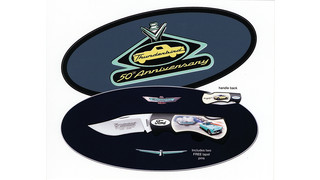 Ford Thunderbird 50th Anniversary Commemorative Items