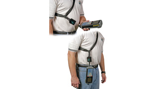 Gear Keeper Instrument Shoulder Straps with an RT3 Retractor