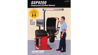 GSP9200 Wheel Balancer brochure