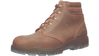 Lace-Up USACH Brown Crazyhorse with Steel Toes