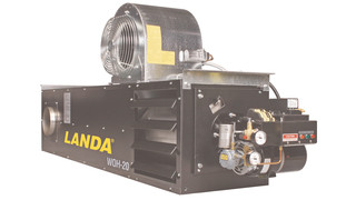 Landa waste oil heaters