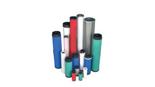 Line of Replacement Filter Elements
