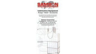Lubrication Equipment Catalog