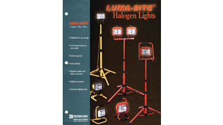 Luma-Site Halogen Lights Brochure