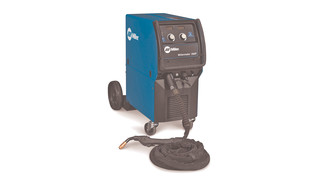 Millermatic 350P all-in-one MIG/Pulse MIG welder