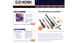New EZ Hook website