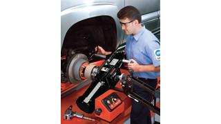 OCL400's ServoDrive System brake lathe