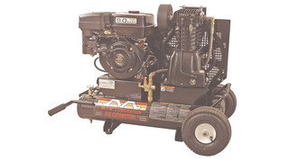 portable 8gal., two-stage gasoline air compressors