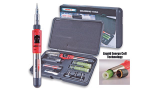 PRO-150K Butane-Powered Soldering Iron/Torch Multi-Function Tools