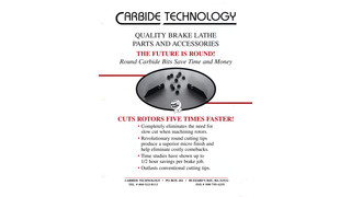 Quality Brake Lathe Parts And Accessories pamphlet
