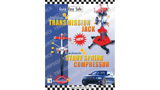 Quick, Easy, Safe Transmission Jack and Strut Spring Compressor Brochure
