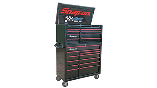 racing edition tool storage top chest and roll cab