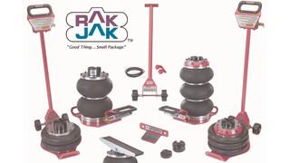RakJAK DBT2L pneumatic jacks