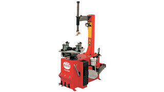 Semi-Automatic Motorcycle Tire Changer and Tire Balancer