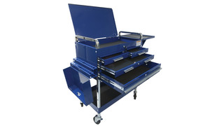 Service Cart w/locking Top and Drawer